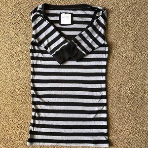 Kirra Women's Quarter Sleeve Striped Shirt